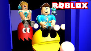 pacman in robolox w gamer chad