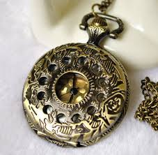 2pcs 40mm antiqued silver color pocket