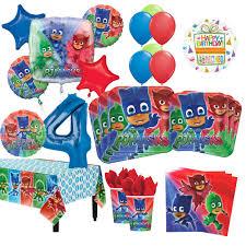 Kit Para Decoracion Para Fiesta De Cumpleanos Para 4 Anos Para 16