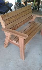 garden bench plans by gary wilkinson on