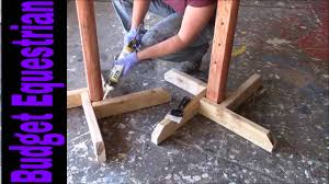 how to build horse jumps caulking the