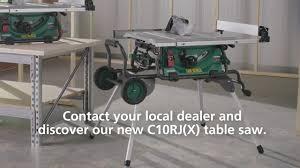 Hikoki Nz Hikoki 254mm 1500w Premium Worksite Ac Table Saw Facebook