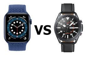Apple Watch Series 6 vs Samsung Galaxy Watch 3: clash of the flagship  smartwatches - PhoneArena