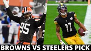 Cleveland Browns vs Pittsburgh Steelers ...