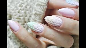 Pastelowe Ombre Bez Gabki Diy Knitted Ombre Nails Szron
