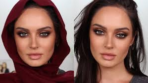 glam eid makeup looks perfect for hijab
