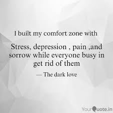 stress depression pain quotes writings by rupanjali