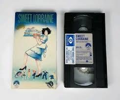 Paramount VHS Sweet Loraine 1987 RARE Maureen Stapleton Edith Falco Steve  Gomer | eBay