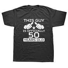 weelsgao 50th birthday shirt bday gift