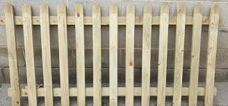 Round Top Picket Fence Panel W Madden Ltd Builders Merchants Building Roofing Timber Plumbing Supplies