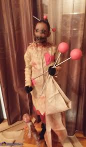 scary voodoo doll costume mind