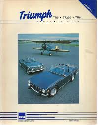 triumph tr5 tr25 tr6 parts catalog