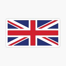 British Flag Stickers Redbubble