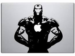 Iron Man Vinyl Decal Sticker For Your Macbook Memoirs On A Rainy Day
