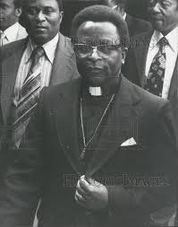 Bishop Muzorewa Arrives For Constitutional Conference 1979 Vintage Press  Photo Print | Historic Images