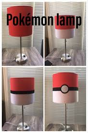 Buy 11 Red Lamp From Walmart And Transform It Into A Pokemon Lamp Pokemon Lamp Diy Pokemon Room Decor Pokemon Diy Pokemon Room Pokemon Decor Pokemon Diy
