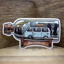 Pnw Stickers Decals Pnw Usa