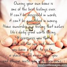 homeownership quote beautiful message for buying a new house new