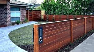 Front Yard Fencing Fence Ideas For Front Yard Autoiq Co