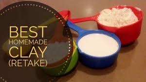 best homemade clay recipe retake