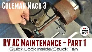 rv ac maintenance part 1 quick look