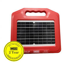 Electric Fencing Mgg 15km Solar Electric Fence Energiser Energizer Ef S500