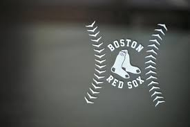 Boston Red Sox Inspired B Special Custom Design Die Cut 4 Vinyl Decal For Car Windows