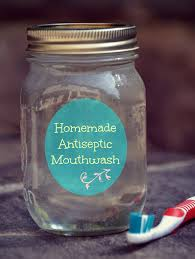 how to make homemade mouthwash