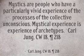 mystics are people who have a particularly vivid experience of the