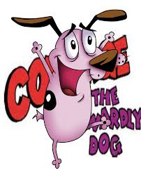 outline of courage the cowardly dog