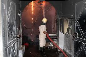 Major fire at hosiery unit : The Tribune India