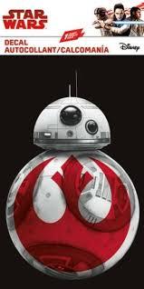 The Last Jedi Star Wars Bb8 Decal Window Decal Sticker Brand New 7452 Ebay
