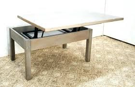 coffee table low height dining table
