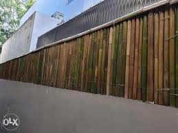 Natural Bamboo Fence W Pest Treatment And Polyurethane Top Coat Supply And Installation Construction Industrial Construction Building Materials On Carousell