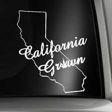Auto Parts And Vehicles Cali Roots California Norcal Socal Racing Jdm Car Decal Window Vinyl Sticker Car Truck Graphics Decals Csmonteuil Com