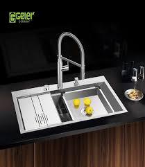 Chậu rửa bát Geler GL-8550 có máy rửa chén giá rẻ