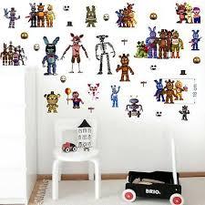 Fnaf Five Nights At Freddy S Wall Stickers Decal Art Decor Vinyl Mural 70x35cmx2 Ebay