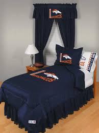 denver broncos locker room comforter