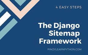 the django sitemap framework pinoy