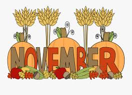 Clipart Happy November - November Clipart , Free Transparent ...