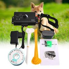 Underground Electric Dog Electric Fencing System Training Collar Fence Wish