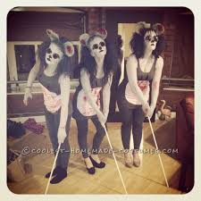 iest three blind mice costumes ever
