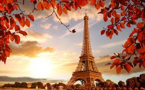 تحميل خلفيات برج إيفل باريس الخريف له مشاهد باريس فرنسا