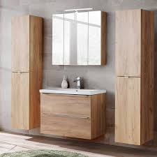 2x tall cabinet led mirror cabinet