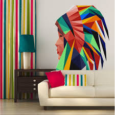Shop Indian Girl Wall Decal Overstock 32017266