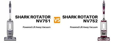 shark rotator nv751 vs nv752 powered