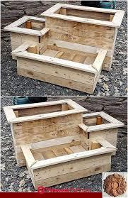 raised garden beds diy wood pallet