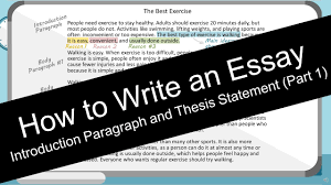 write an essay introduction paragraph