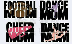 Sports Mom Decal Car Decal Waterproof Vinyl Sticker Personalized Sports Decal Bumper Sticker Accessories Decal Football Cheer Dance Vineandwhimsydesigns Online Store Powered By Storenvy