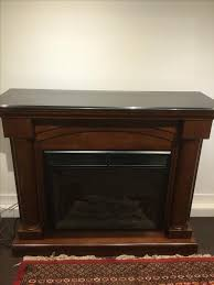 granite top electric fireplace saanich